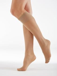 Fußfrisch-Feinstützstrümpfe 3 Paar Haut Detail 1