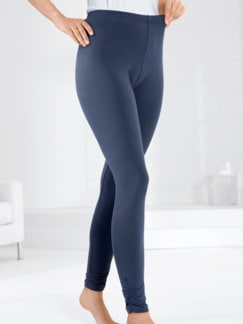 Kombi-Leggings Jeansblau Detail 1