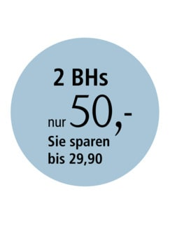 Soft-BH Satin-Dekollete Weiß Detail 3