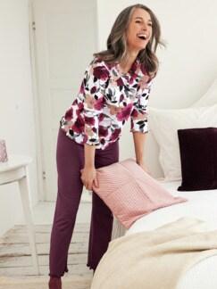 Schlafanzug Blumenzauber