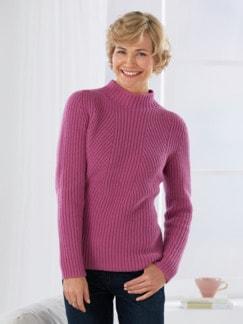 Cashmino-Pullover Magnolie Detail 2