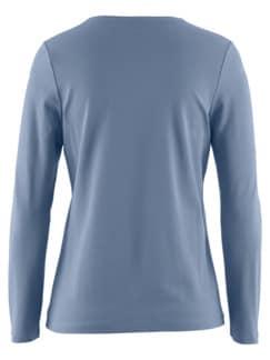 Wohlfühl-Langarm-Shirt Indigo Detail 4