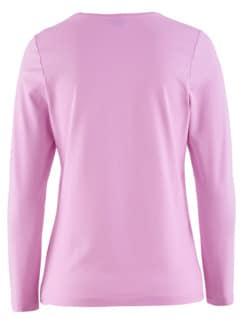 Wohlfühl-Langarm-Shirt Rose Detail 4