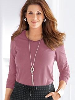 Wohlfühl-Thermo-Shirt Rosé Detail 1