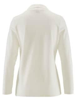 Wohlfühl-Thermo-Shirt Rollkragen Ecru Detail 4