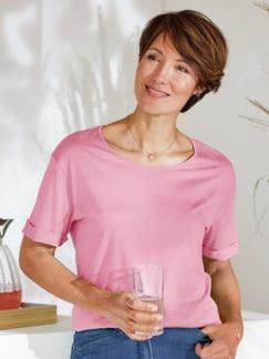 Seidenjersey-Shirt