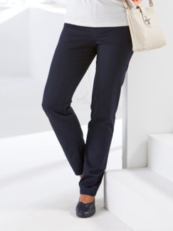 Ready-to-wear-Hose Blau Detail 1