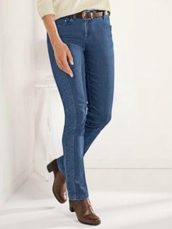 Macht-mich-schlank-Jeans Mittelblau Detail 1