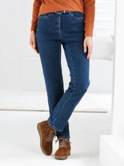 Bequembund-Kuschel-Jeans Blau Detail 1
