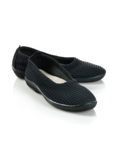 Hallux-Soft-Slipper Schwarz Detail 1