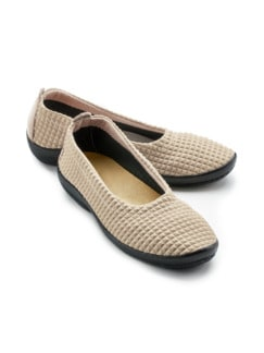 Hallux-Soft-Slipper Beige Detail 1