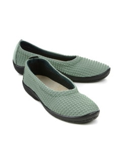 Hallux-Soft-Slipper Khaki Detail 1