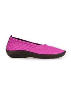 Hallux-Soft-Slipper Pink Detail 2