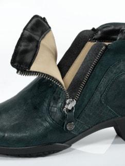 Hallux-Stretch-Boots Grün Detail 3