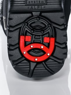 Aquastop-Spike-Boots Schwarz Detail 4