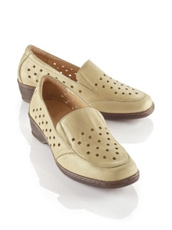 Hallux-Sensitiv-Stretch-Slipper Beige Detail 1