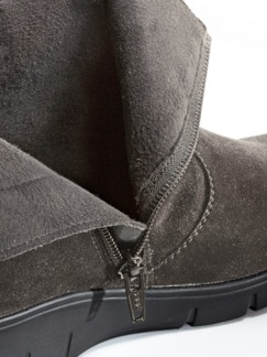 Soft-Schnür-Boots Select Taupe Detail 3