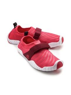 Wohlfühl-Barfuß-Schuh Rot Detail 1