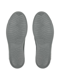 Reißverschluss-Sneaker Shiny low Schwarz Detail 4