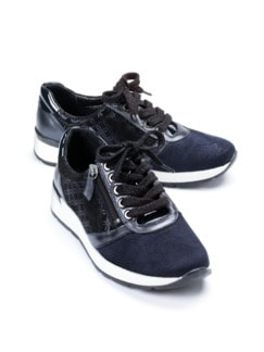 Hallux-Sneaker Trendy low Marine Detail 1