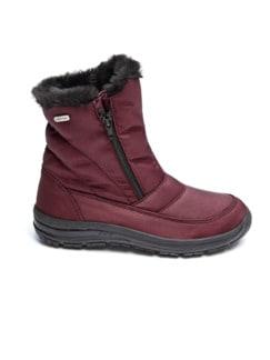 Aquastop-Boots Thermo Bordeaux Detail 2
