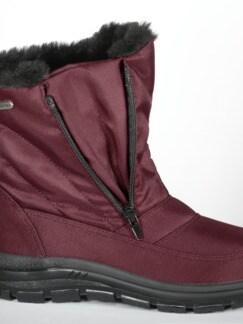 Aquastop-Boots Thermo Bordeaux Detail 3