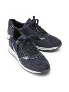 Reißverschluss-Sneaker Easyfit Marine Detail 1