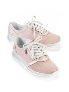 Hallux-Sneaker Extraweich Rosa Detail 1