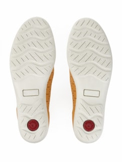 Klima-Ballerina Schrittdämpfer Gelb Detail 4