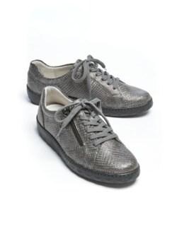 Waldläufer-Luftpolster-Sneaker Easy Grau Detail 1