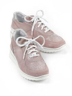 Bequem-Sneaker Wohlfühlweite Rosé Detail 1