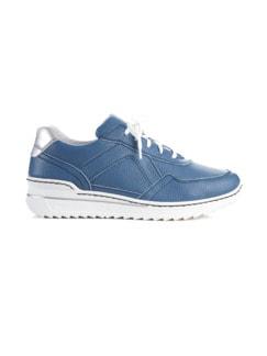 Bequem-Sneaker Wohlfühlweite Jeansblau Detail 2