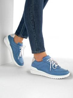 Bequem-Sneaker Wohlfühlweite Jeansblau Detail 3