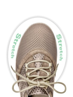 Hallux-Sneaker Feel Free Taupe Detail 4