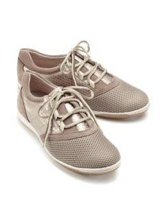 Hallux-Sneaker Feel Free Taupe Detail 1