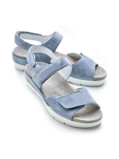 Hallux-Sandale Wolke 7 Jeansblau Detail 1