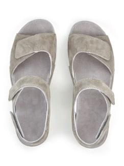 Hallux-Sandale Wolke 7 Schilf Detail 3