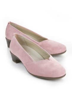 Hallux-Pumps Extraweit Rose Detail 1