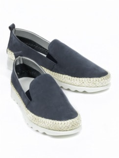 Soft-Slipper Flexibility Blau Detail 1