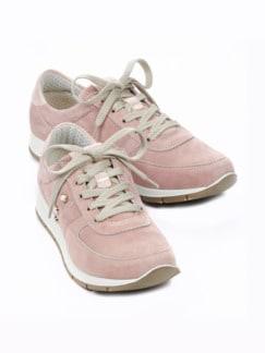Ziegenleder-Sneaker Softness Rosé Detail 1