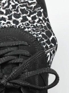 Hallux-Sneaker Weitenkomfort Schwarz Detail 3