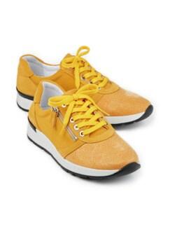 Hallux-Sneaker Polstertraum Gelb Detail 1