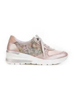Hallux-Sneaker Hüftschwung Rose geblümt Detail 2