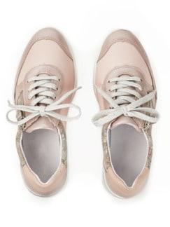 Hallux-Sneaker Hüftschwung Rose geblümt Detail 4