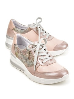 Hallux-Sneaker Hüftschwung Rose geblümt Detail 1