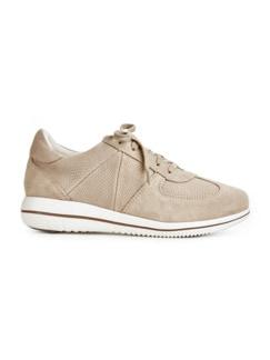 Green Comfort-Sneaker Federleicht Beige Detail 2