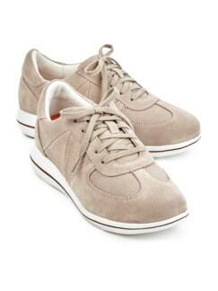Green Comfort-Sneaker Federleicht Beige Detail 1