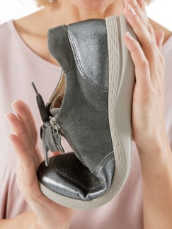Hallux-Sneaker Superbequem Grau Detail 4