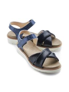 Hallux-Sandale Softness Marine Detail 1