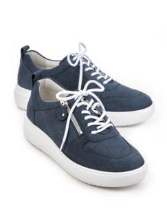 Waldläufer-Sneaker Softtritt Jeansblau Detail 1